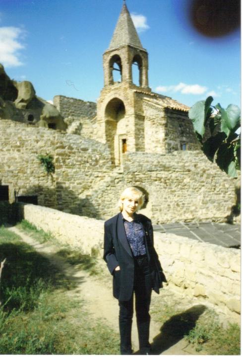 manastirea din pustiu-georgia