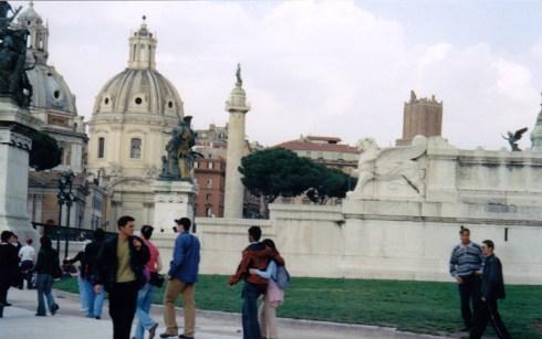 Roma, Columna lui Traian