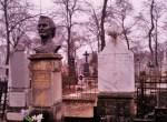 Cimitirul Armenească, monumentul Anton Crihan, febr,2013