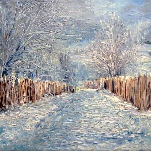 Mihai Olteanu, Peisaj de iarnă 4
