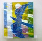 Amintirea Păsării Albastre. Tablou de Andrei Mudrea