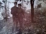 Liuda și Mitea, in pădure (2)
